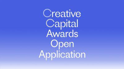2022 Creative Capital Award