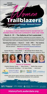 "History Fort Lauderdale Presents ""Women Trailbla..."