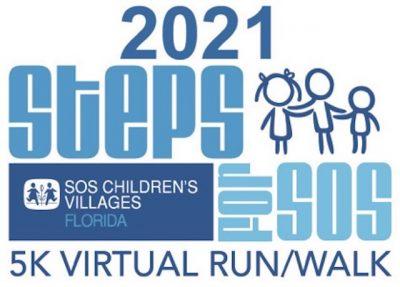Steps for SOS Virtual 5K Run/Walk