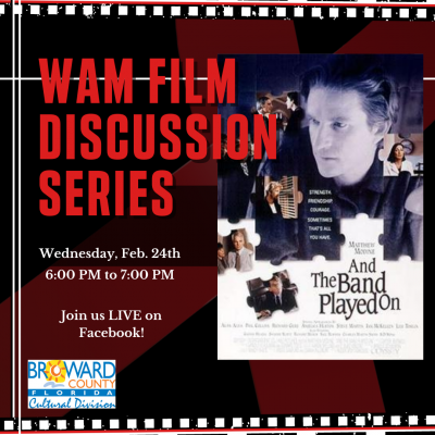 WAM Film Discussion Series: And the Band Played on