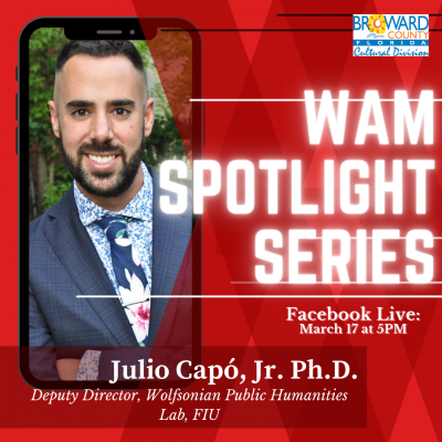 WAM Spotlight Series: Dr. Julio Capo, Jr.
