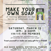 Teach & Tea: Make Your Own Soap