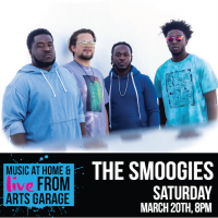 Music at Home & Live from Arts Garage with The Smoogies