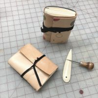 Virtual Make Your Own Leather Travel Journal