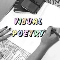 Virtual Sketchbook Habits: Visual Poetry