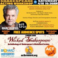 SHAKESPEARE ACTING WORKSHOP