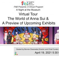"""A Night at the NSU Art Museum: Virtual Program Featuring """"THE WORLD OF ANNA SUI"""""""