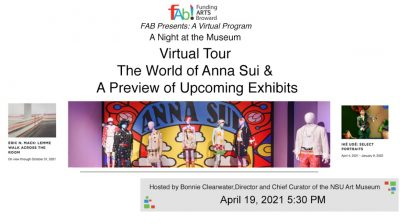 A Night at the NSU Art Museum: Virtual Program Fea...