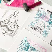 Virtual Print Club: Trace Monotypes
