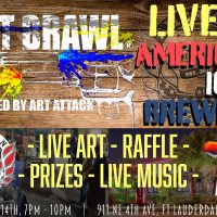Art Brawl at American Icon Brewery