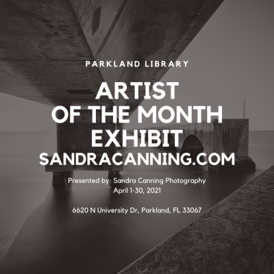 Artist of the Month Exhibit - Parkland Library