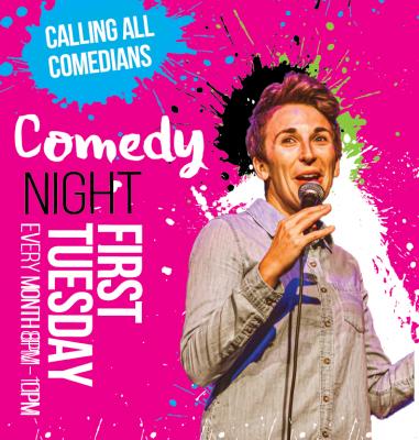 Comedy Night at Arts Garage