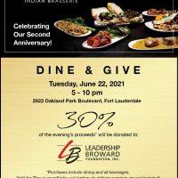 """MOKSHA Indian Brasserie's """"Dine & Give"""" Ni..."""
