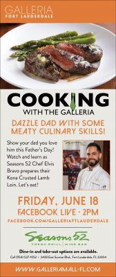 Cooking with The Galleria: Learn to Cook with Seasons 52 Chef Elvis Bravo