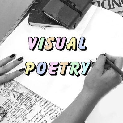 Virtual Sketchbook Habits: Visual Poetry