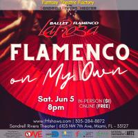"ONE@SRT: Ilisa Rosal's ""Flamenco On My Own"""