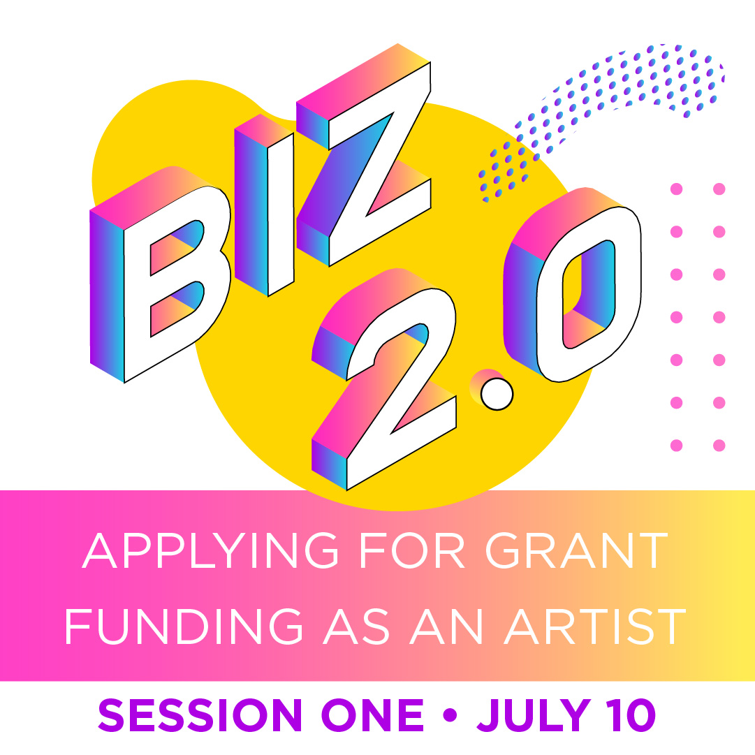 Business Skills grant funding for artists