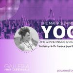 Maha Yoga at The Galleria with Lisa