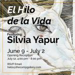 Silvia Yapur El Hilo de la Vida Exhibition