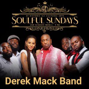 Virtual Soulful Sundays featuring The Derek Mack B...