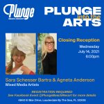 Plunge Into The Arts with Sara Schesser Bartra and Agneta Anderson