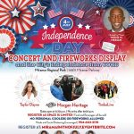 4th of July Independence Day Concert and Fireworks Display