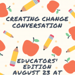 CREATING CHANGE Conversation for Dance and Theatre...
