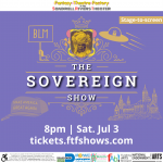"""ONE@SRT: Luckner Bruno's """"The Sovereign Show"""""""