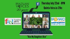 """Video Premiere of """"Rise My Daughters Rise"""" by Brazilian Voices"""