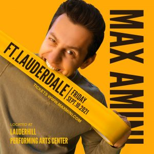 Stand-up Comedian Max Amini Live in Ft. Lauderdale...