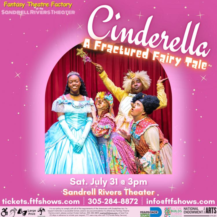Cinderella: A Fractured Fairytale- LIVE @ SRT