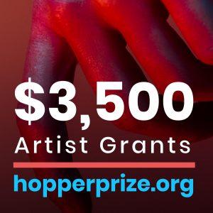 $3,500 Artist Grants