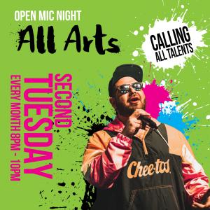 All Arts Open Mic Night
