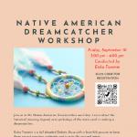 "Native American Dreamcatcher ""Online/Virtual"" Workshop"