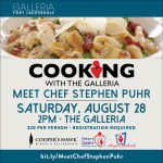 Cooking with The Galleria LIVE – A Benefit for Heart Gallery of Broward County