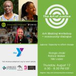 The Art of Justice: Art-Making workshop + community dialogue (2 of 4)