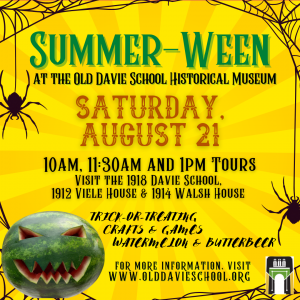 Summer-Ween at the Old Davie School Historical Museum