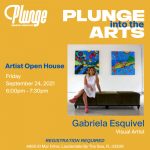 Plunge Into The Arts with Gabriela Esquivel