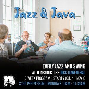 Jazz & Java with instructor Dick Lowenthal