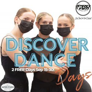 Discover Dance Days!