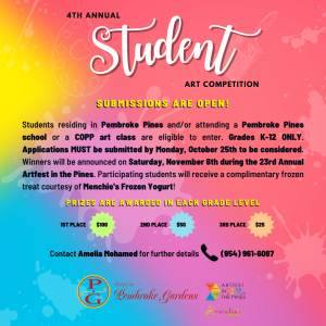 The City of Pembroke Pines' 4th Annual Student Art...