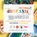 Got Culture? Celebrating Hispanic Heritage Month