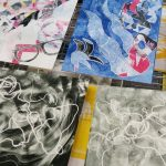 Print Club: Monoprinting with Stencils!