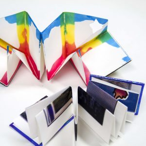 DIY Teens: Foldable Books & Paper Dyeing