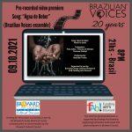 """Video Premiere of """"Água de Beber"""" by Brazilian Voices"""