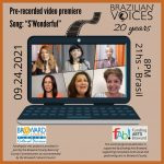"""Video Premiere of """"S'Wonderful"""" by Brazilian Voices"""