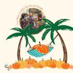 A Tropical Trick or Treat! Pumpkins & Palm Tre...