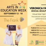Virtual Artist Talk Series Introducing Social Sculpture Artist Veronica Fazzio