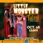Little Monster Tales LIVE- Sensory Friendly Performance