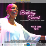 Brenda Alford's Birthday Concert- Songs and The Stories Behind Them